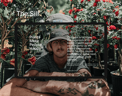 The Sill | Web-Site Redesign