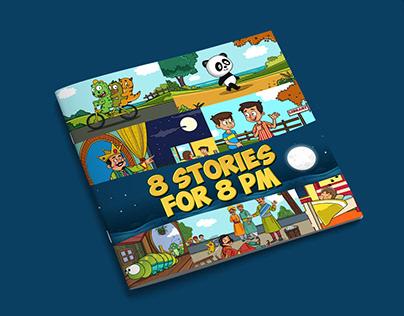 8 Stories Kids Book illustrations