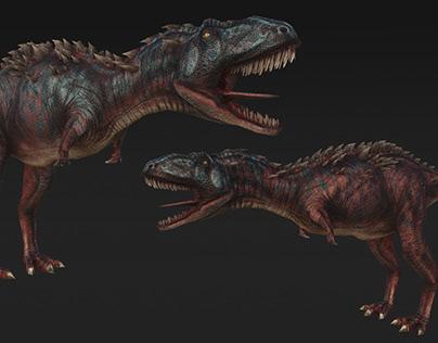 Textures dinosaur for T-Bull