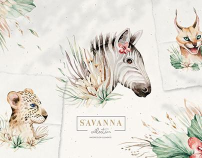 Stay Wild - Savanna Collection