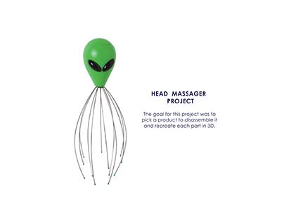 3D Head Massager Project