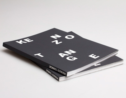 Book Redesign - Kenzo Tange