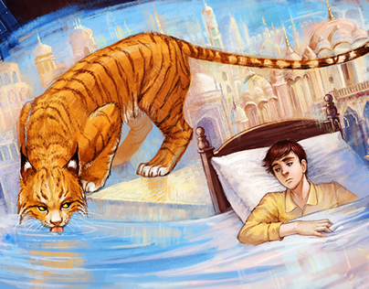 The boy and the lynx