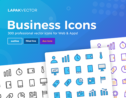 KerjaYuk Business Icons