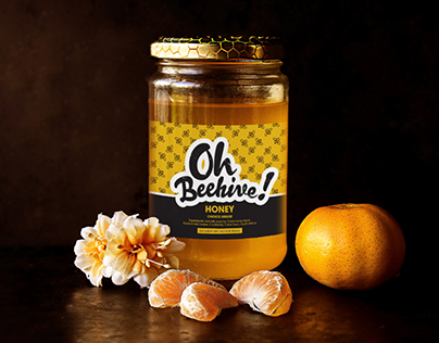 Honey Label Template