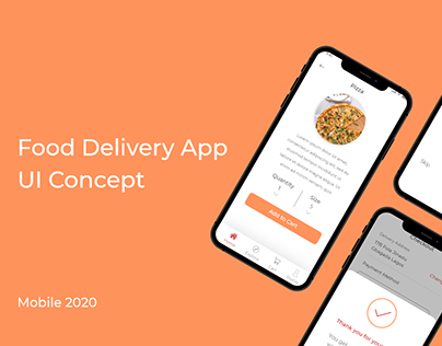 WAAJE - A Food Delivery App Concept