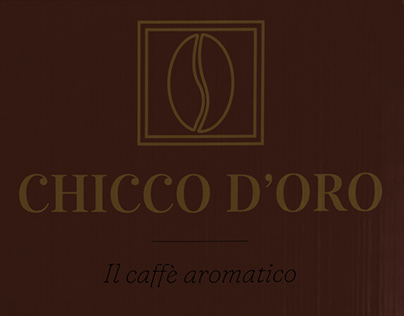 Chicco d'Oro - logo and branding