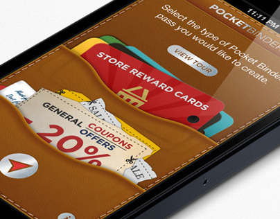 Pocket Binder iOS applecation