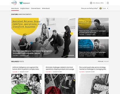 WipBoard - Blog Design Concept