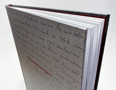 EDITORIAL DESIGN: »Erinnerungen« (Buch)