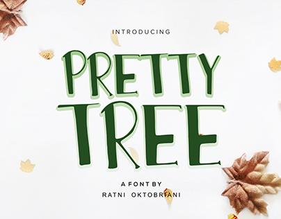Pretty Tree - A Playfull Font