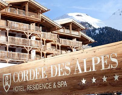 Cordée des Alpes Identity