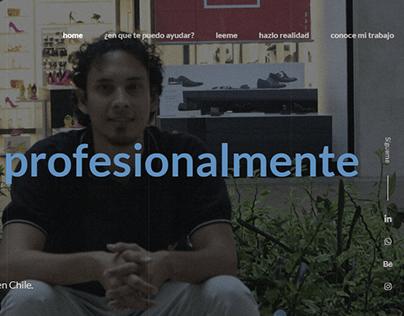 Diseño web para Jose Cortesia