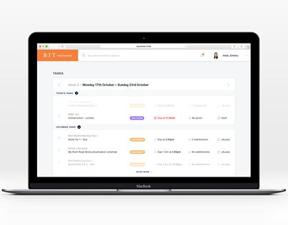 Reimagining myCourses | Web & UX