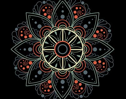 Flower Tile Design