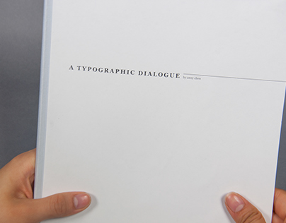 A Typographic Dialogue