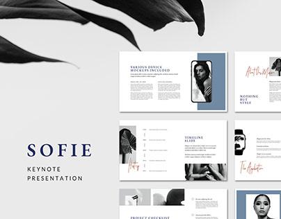 Keynote Presentation Template SOFIE