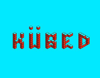 Kübed: Modular Typeface