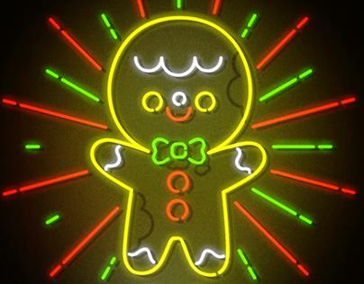 Neon Sign / Christmas