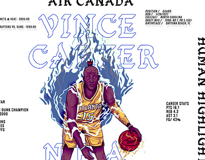 VINCE CARTER° x Ade-Sign // 22 SESSIONS - Editorial
