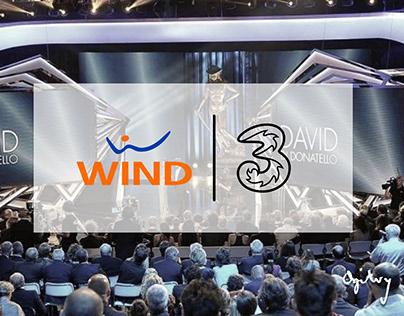 Wind Tre - David di Donatello   Activation