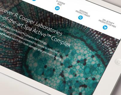 R.Cooper Instore iPad Presentation