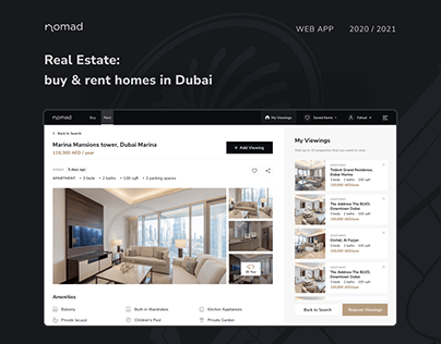 Nomad Homes Website