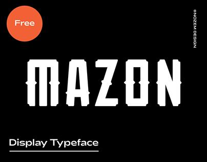 Mazon - Free Font