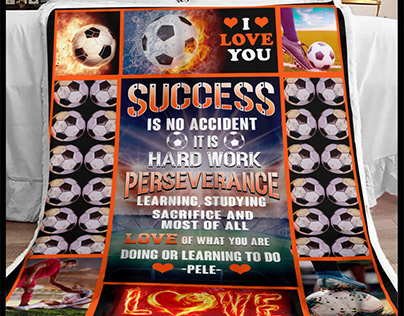 Football Blanket by 90 LoveHome on Behance