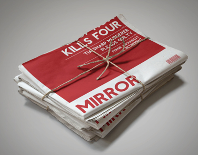 Daily Mirror Re-brand