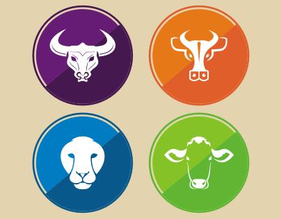 30 Amazing Animal Vector Icons
