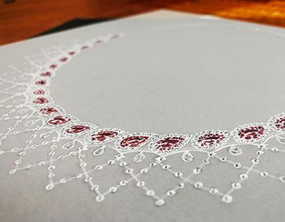 Jewelry Rendering (Part 5) : Necklace Design