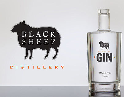 Black Sheep Distillery Identity