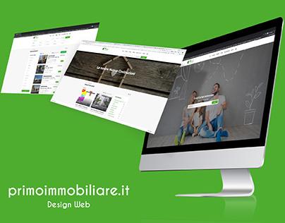 Primo Immobiliare | Design Web