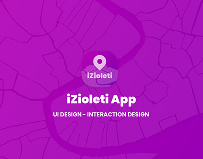 iZioleti App UI/Interaction Design Frontend Development