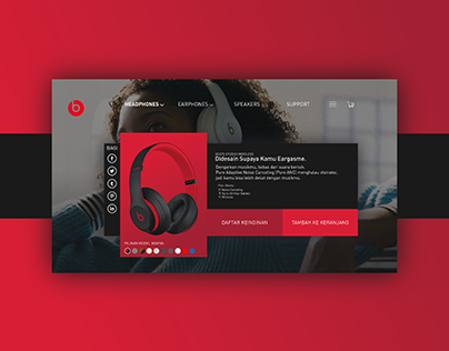 Beats Product Page Redesigned