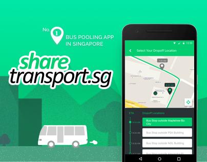 Bus pooling app