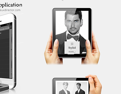 Styled Men's Fashion iOS & Tablet Application