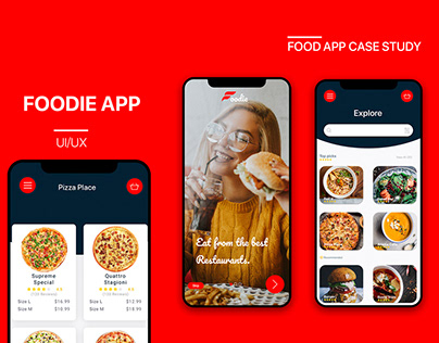 Foodie App - UI/UX Full Case study