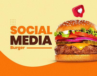 Social Media - Burger 2020