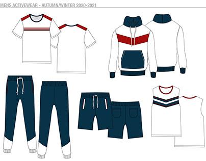 Mens Activewear - Autumn/Winter 2020-2021