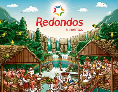 Calendario Redondos 2017