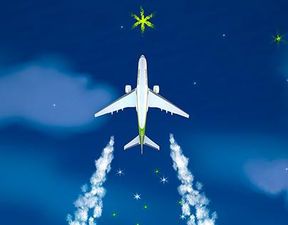 iraqi airways celebrating new year