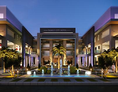 Family city mall | architectural visualization