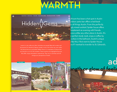Hidden Gems website