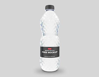 Water Bottle Free Mockup