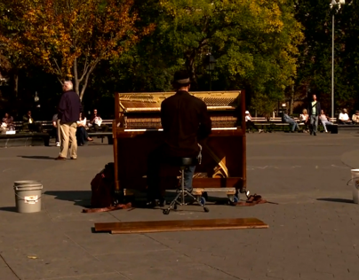 The Piano Busker - Short Documentary