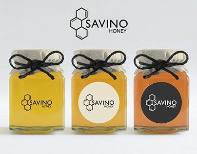 Savino honey company logo