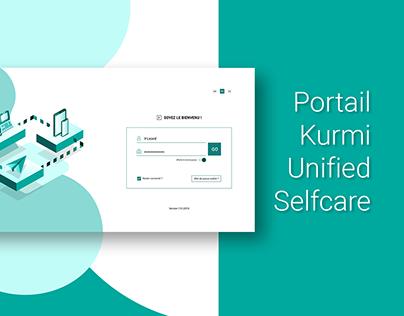 [Design d'interface] - Portail Kurmi Unified Selfcare