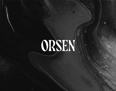 ORSEN - Visual Identity